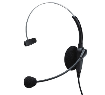 Connect PRO 201 Single Ear Corded Headset for Aastra