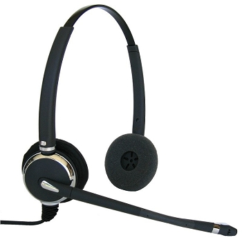 Connect MAX 602 Dual Ear Corded Headset for Aastra