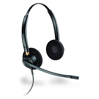 Plantronics HW520 EncorePro Binaural Noise Canceling Headset  for Aastra