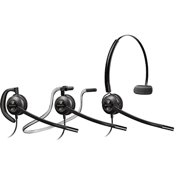 Plantronics HW540 EncorePro Convertible Noise Canceling Headset  for Aastra