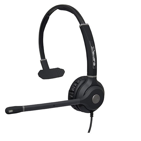 JPL Element TT3 Single Ear Corded Headset for Cisco
