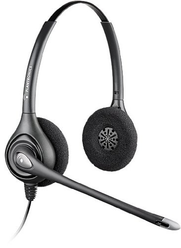 (discontinued) PLANTRONICS HW261N SUPRAPLUS NOISE CANCELING HEADSET  for Speakerbus