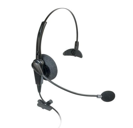 Connect PRO 201 Single Ear Corded Headset for Topcom