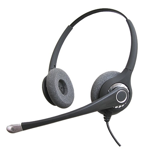 Connect FLEX 402 Dual Ear Corded Headset for Mitel