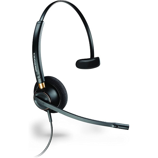 Plantronics HW510 EncorePro Single Ear Noise Canceling Headset  for Panasonic
